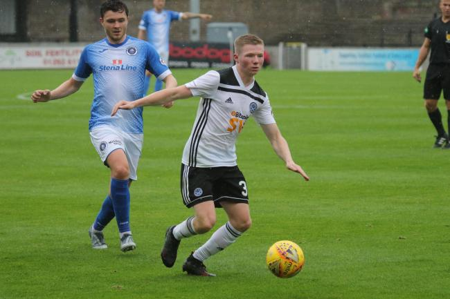 Stephen Kelly netted the winning goal for Ayr.
