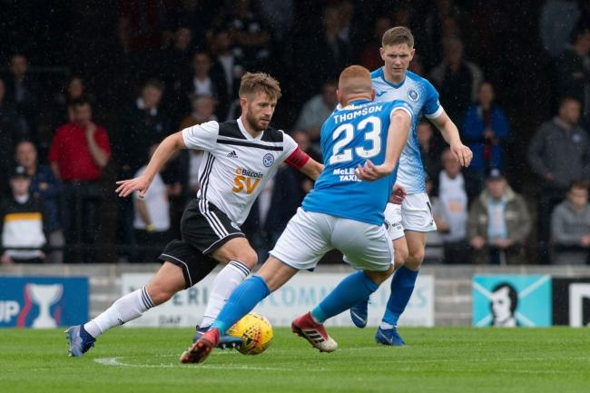 Ross Docherty is relishing the top-of-the-table clash,