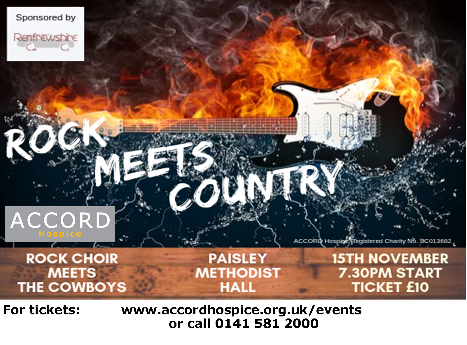 Rock Meets Country in Aid of ACCORD Hospice