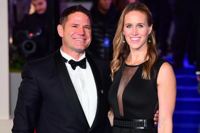 Helen Glover and Steve Backshall