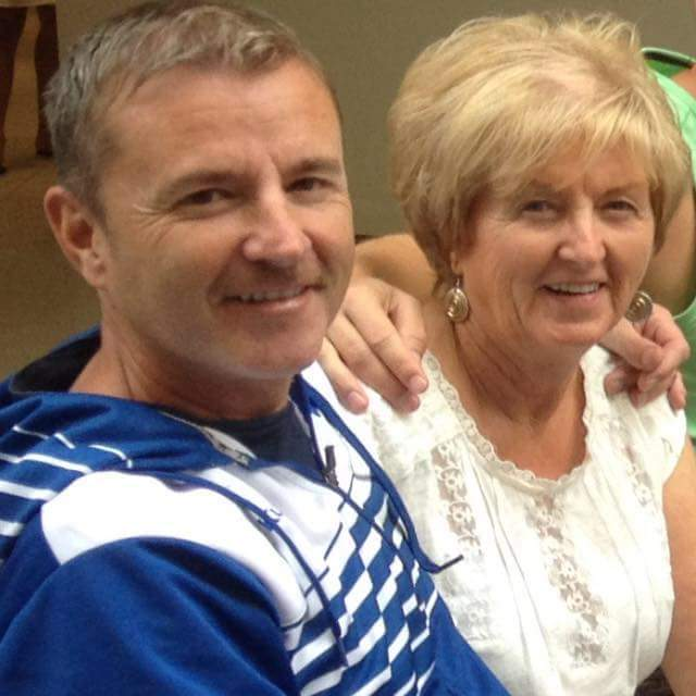 GLORIOUS TRIUMPH: David Gourlay celebrate International Open success with mum Sarah.