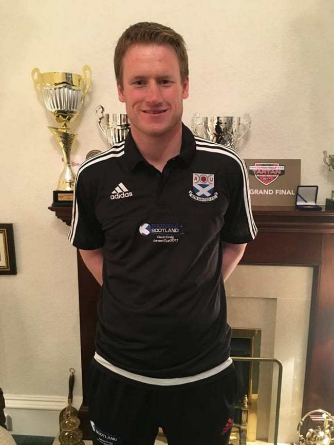 FOOTGOLF ACE: Gavin Craig is organising a charity event for Ayrshire Cancer Support.
