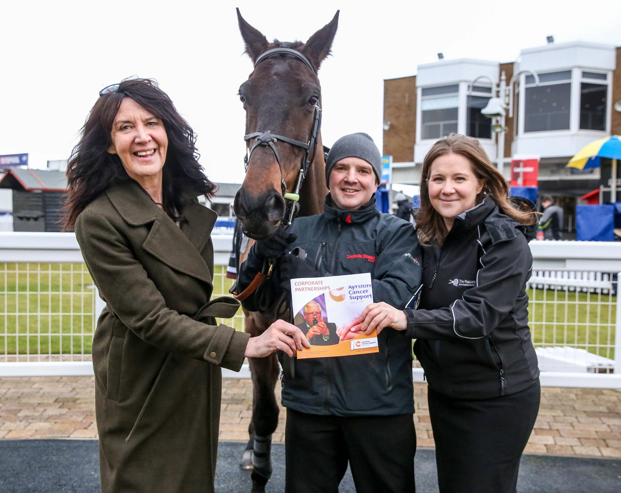 Ayrshire Cancer Support is Ayr Racecourse's chosen charity