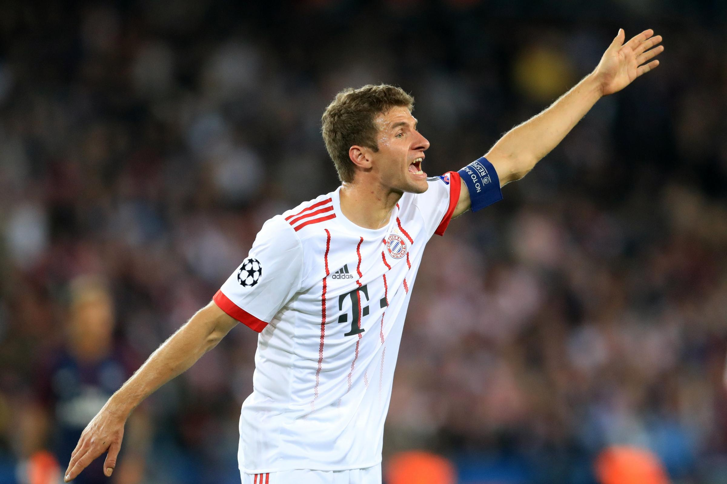 Thomas Muller says Bayern Munich mean business at Besiktas (Adam Davy/Empics)