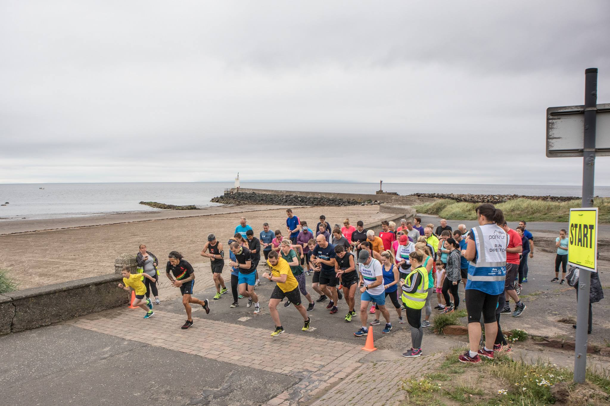 Ton up as Girvan turns out in force for 5K Parkrun
