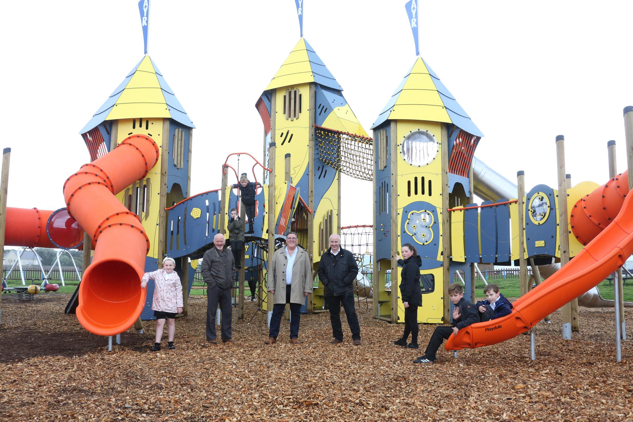 New play frame opened in Ayr