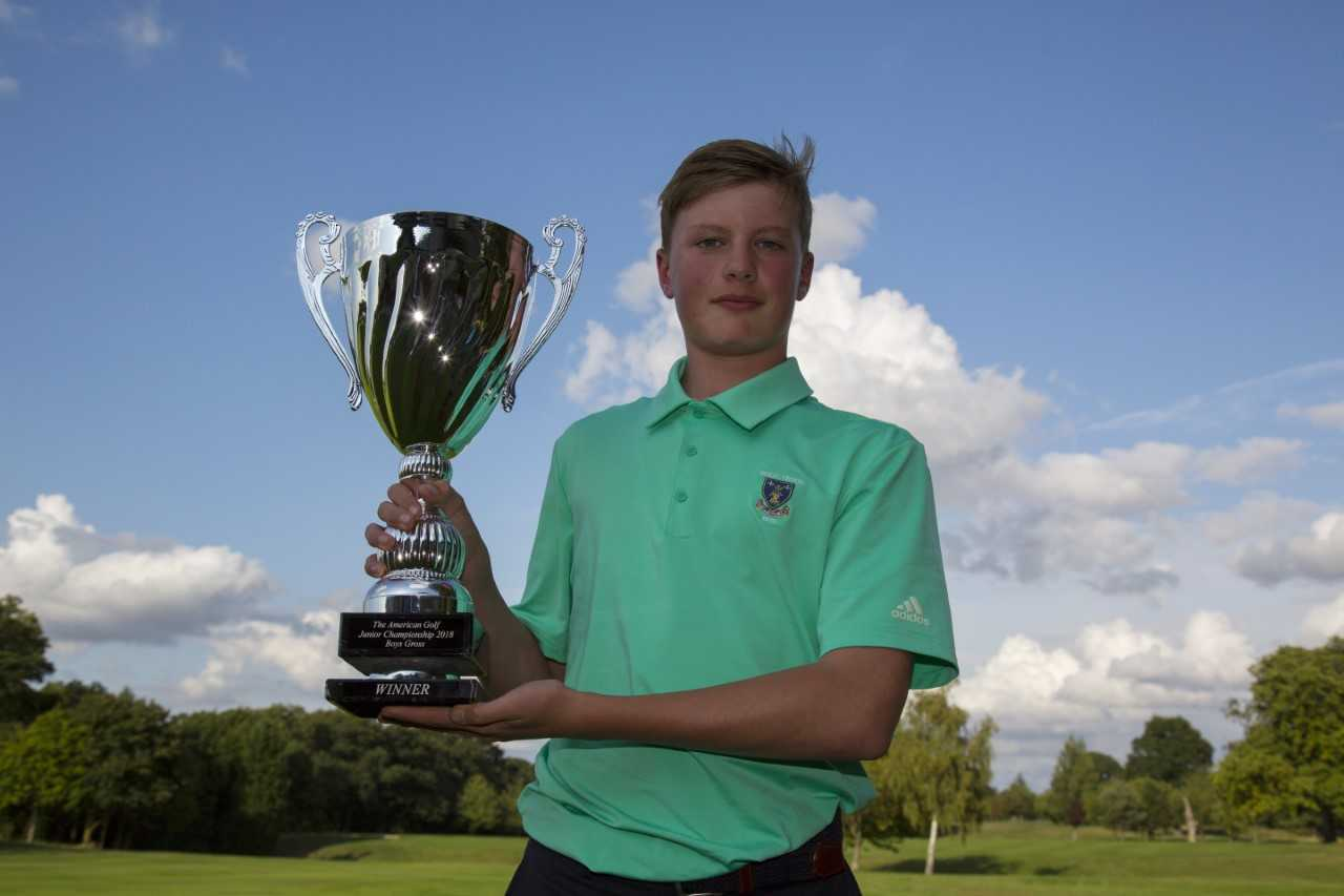 MAJOR GLORY: Fraser Russell was victorious in a national final.