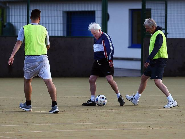 Free walking football in Girvan