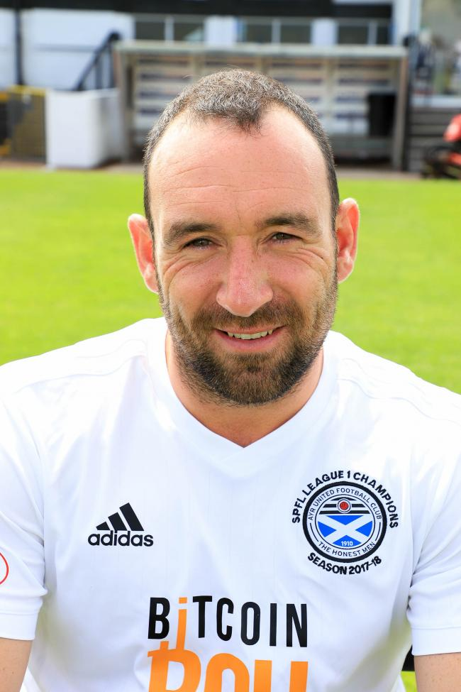 Ayr United Players (2018 - 19) - Michael Moffat.