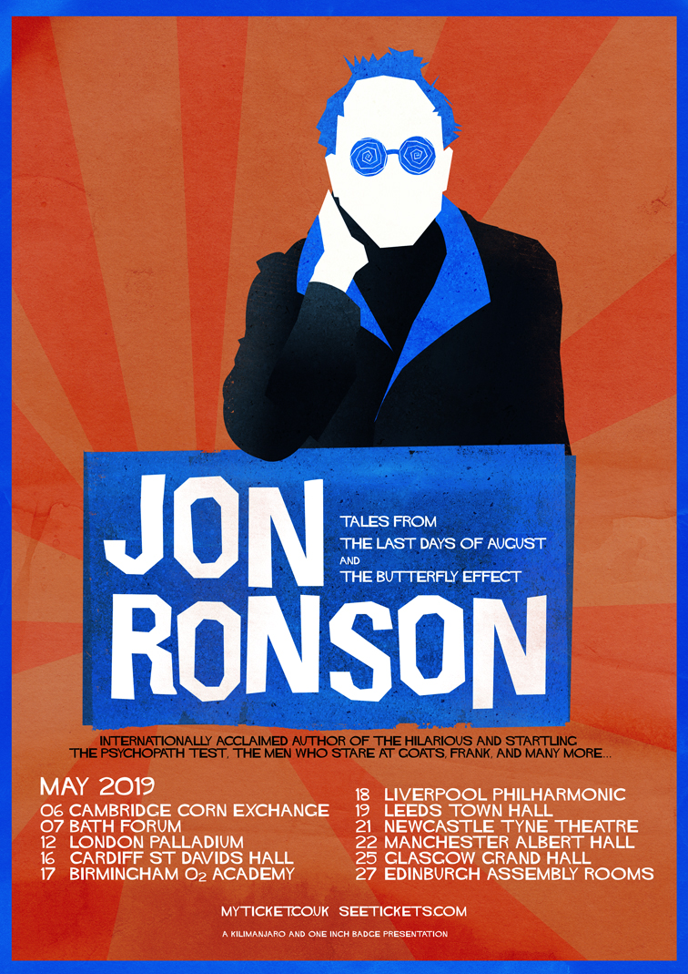 Jon Ronson | Tales from The Last Days of August